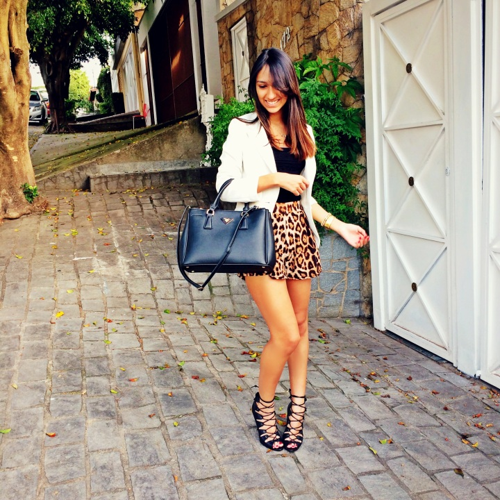 Meu Look: Animal Print