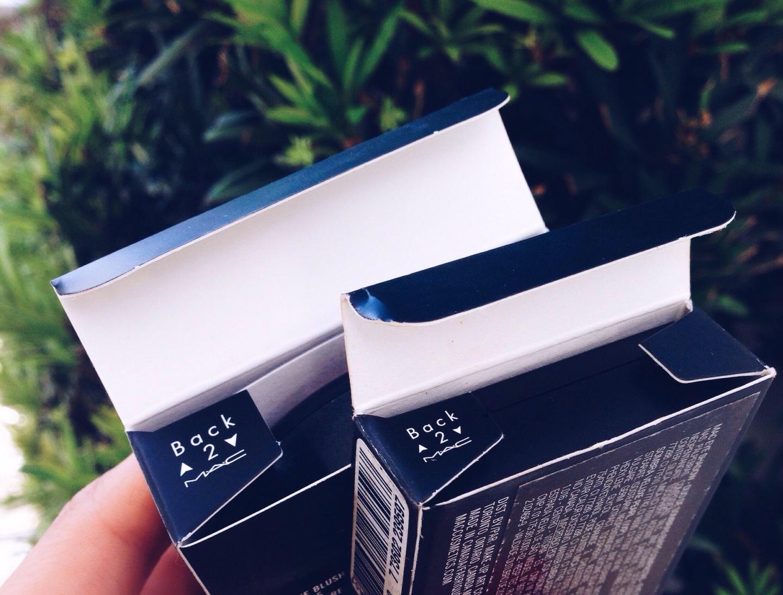 Back to MAC: trocando embalagens usadas por produtos novos!