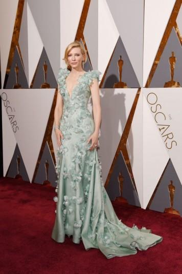 Cate Blanchett de Armani.