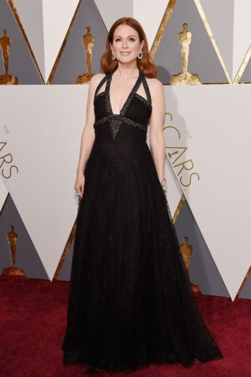 Julianne Moore de Chanel.