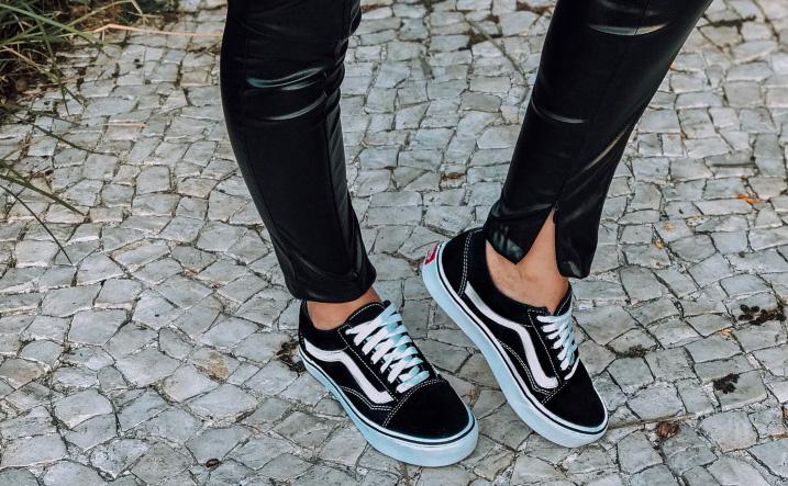 Meu Look: All Black +Vans